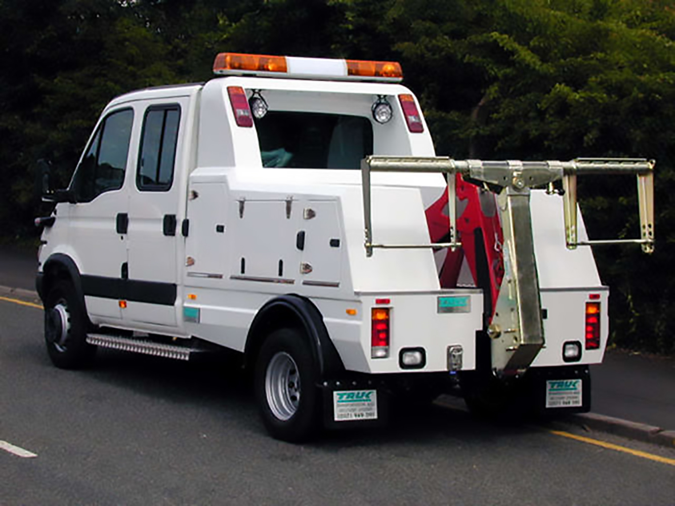 Recovery Truck - Recovery Vehicle - Spec Lift