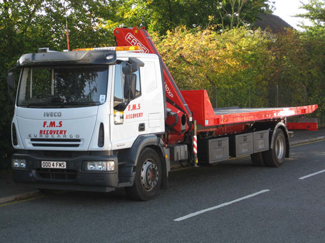 New Recovery Truck - Recovery Vehicle - Slideback