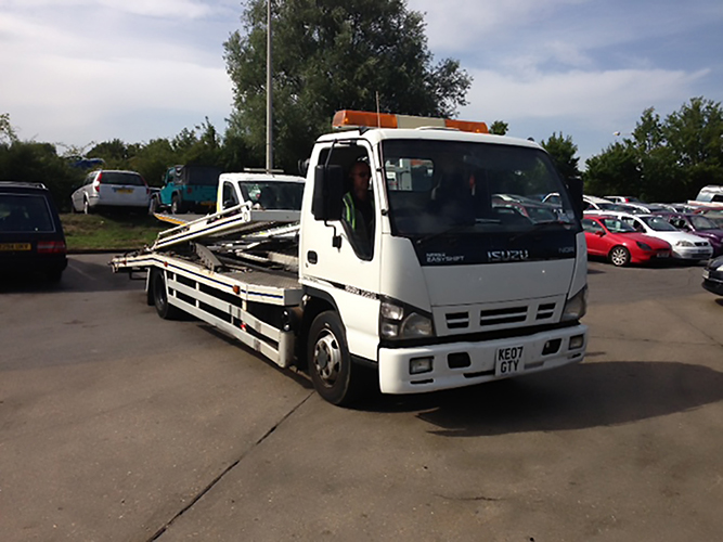 Used Recovery Truck - Recovery Vehicle