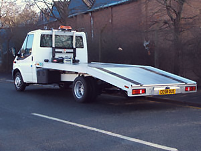 New Recovery Truck - Recovery Vehicle - Beavertail