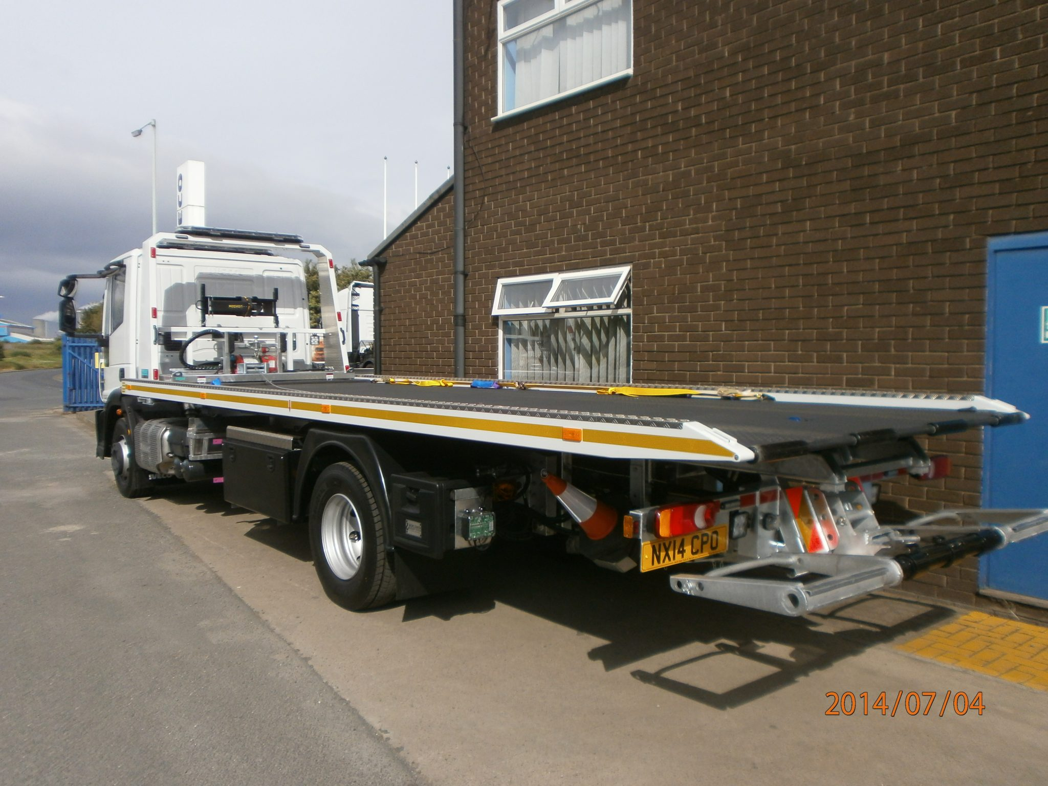 Recovery Truck -Recovery Vehicle - Slideback Ultra Low