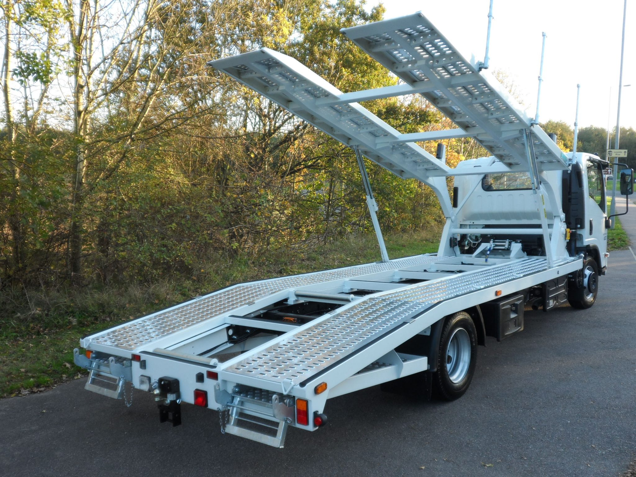 Recovery Truck - Recovery Vehicle - Twin Deck