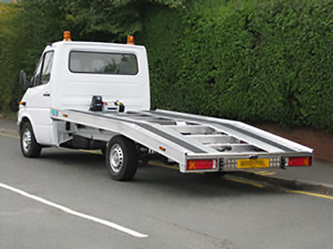 Recovery Truck - Recovery Vehicle - Beavertail