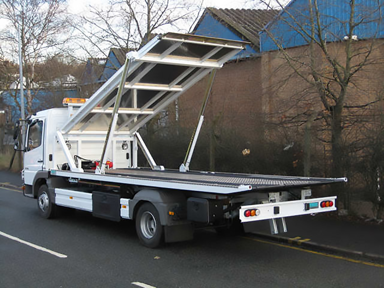 Recovery Truck - Recovery Vehicle - Slideback Multi Car Carrier