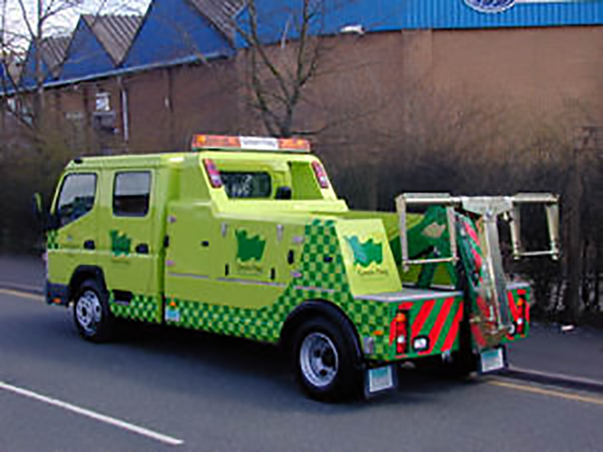 New Recovery Truck - Recovery Vehicle - Spec Lift