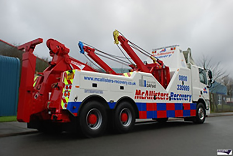 Used Recovery Truck - Recovery Vehicle - Heavy Recovery