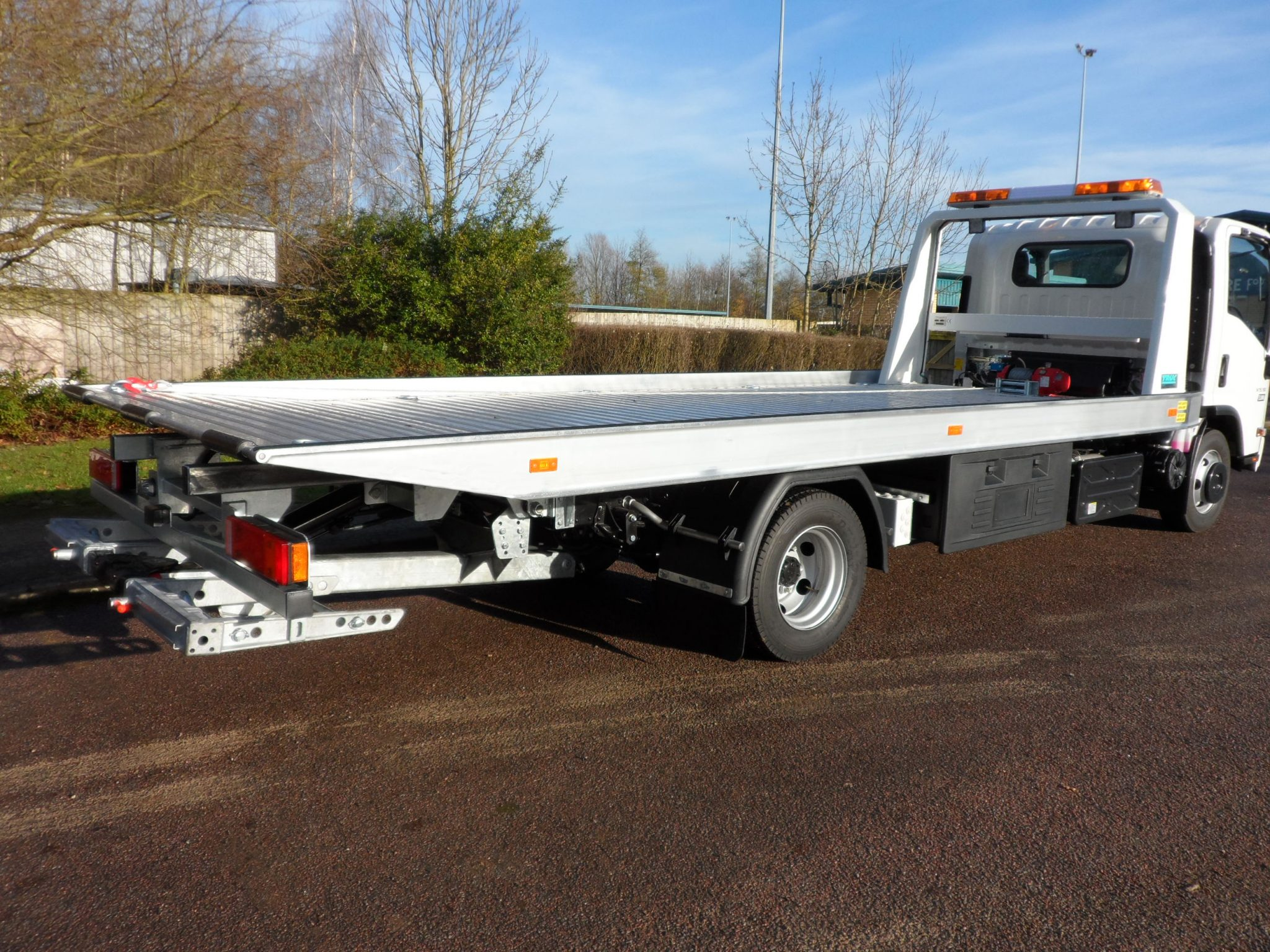 Recovery Truck - Recovery Vehicle - Low Approach Slideback