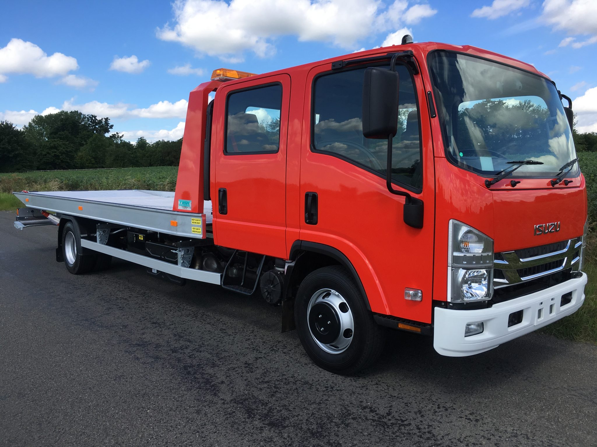 Recovery Truck - Recovery Vehicle - Slideback