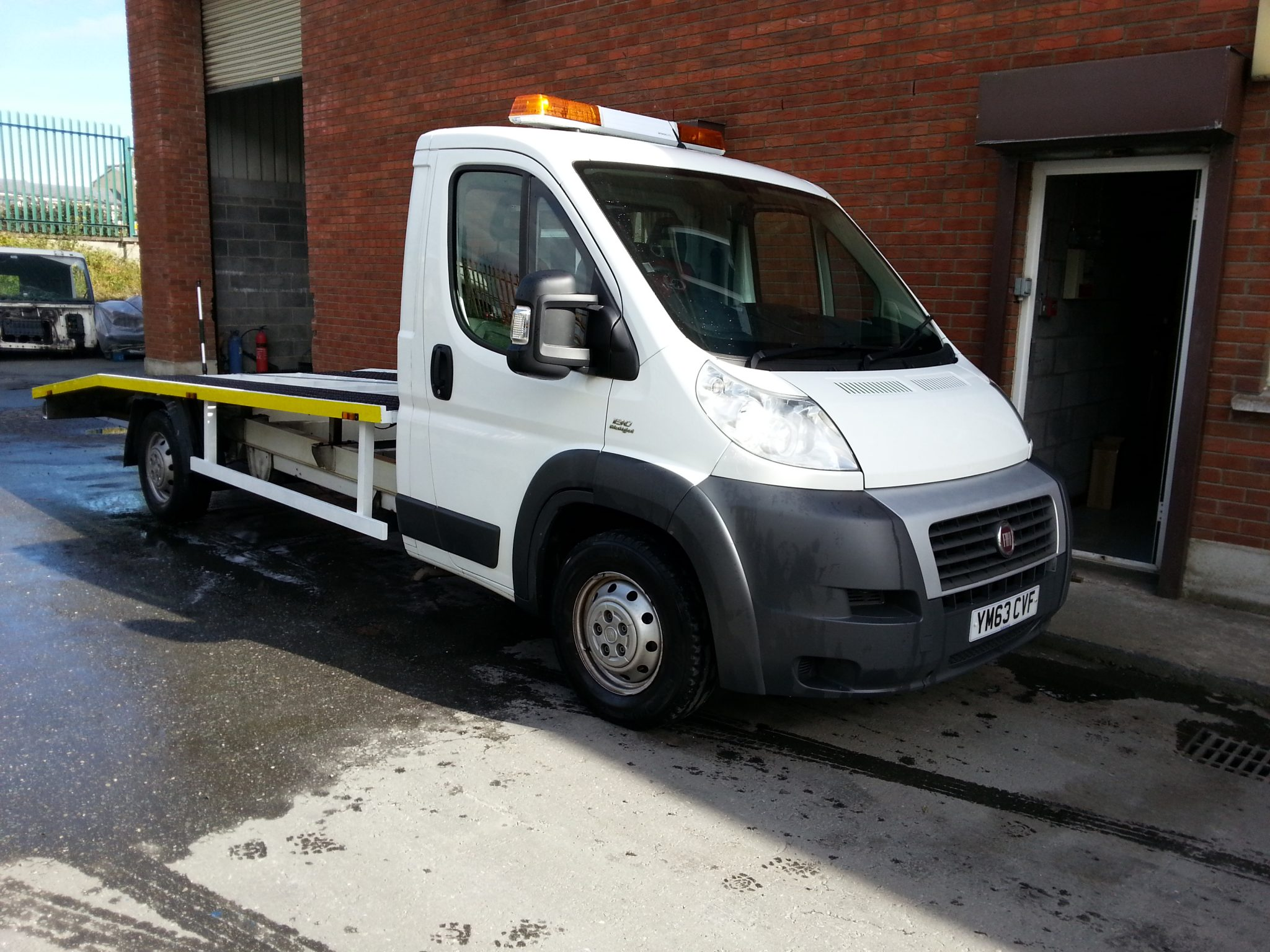 Used Recovery Truck - Recovery Vehicle - Slideback
